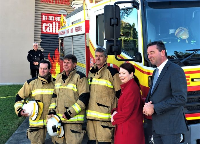 Newly Upgraded Mt Ommaney Fire and Rescue Station Now Open