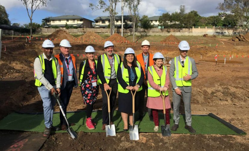 Work Begins on the New $7.7 Million Building for Mount Ommaney Special School