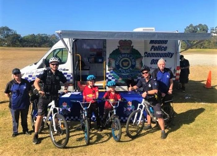 Middle Park School Students Learn About Bicycle Safety