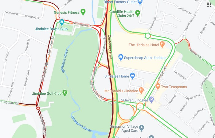 Centenary Highway Traffic Flow Back to Normal After Sewer Main Burst
