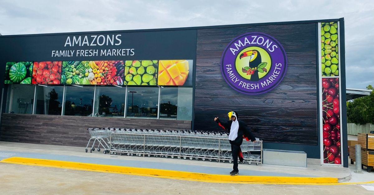Score Great Deals at the New Amazons Family Fresh Markets in Jindalee